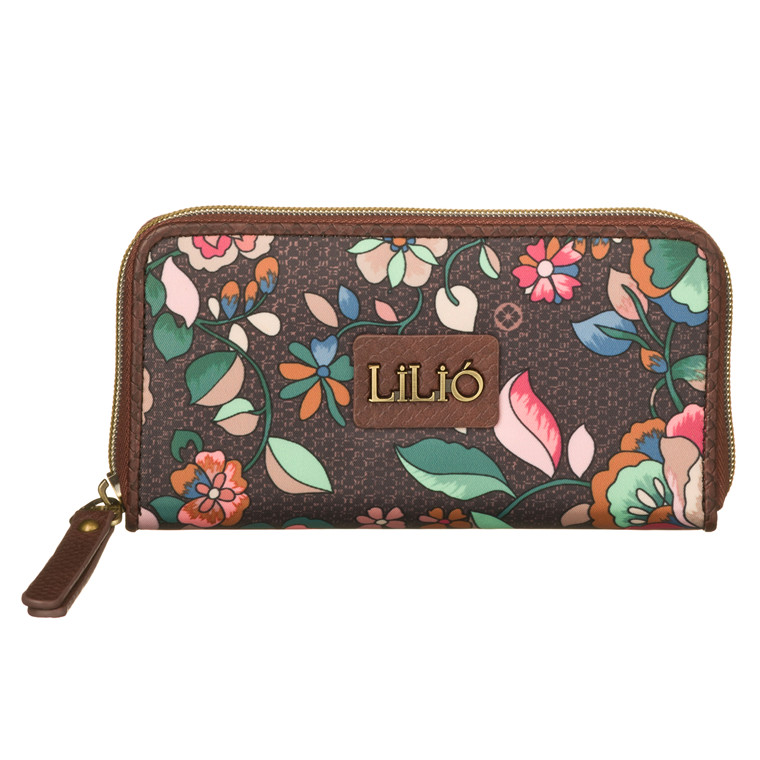 Lilio pung med et farvestrålende mønster