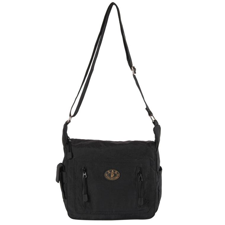 Stephanie Crincle taske med klap