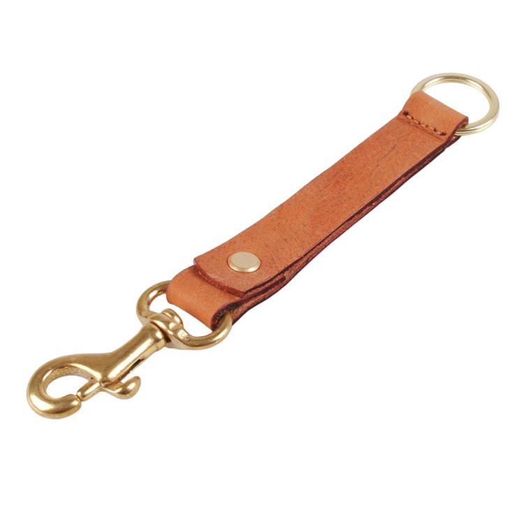 Bosswik bred keyhanger i skind