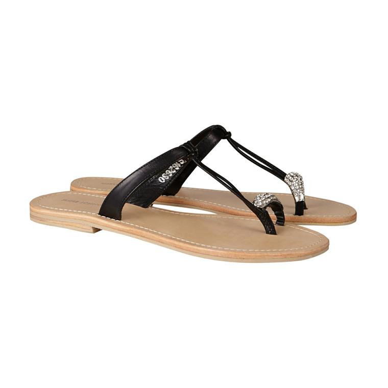 Sofie Schnoor  tå sandal med sten