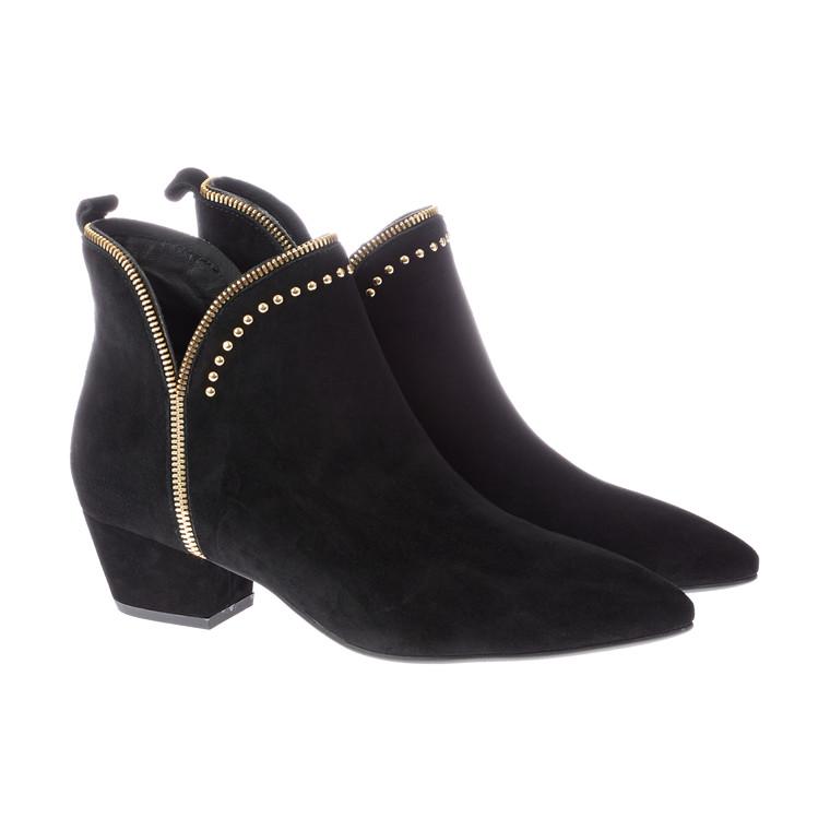 Sofie Schnoor Raw Zip støvle i ruskind