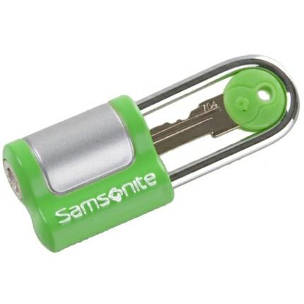 Samsonite kuffertlås med nøgle