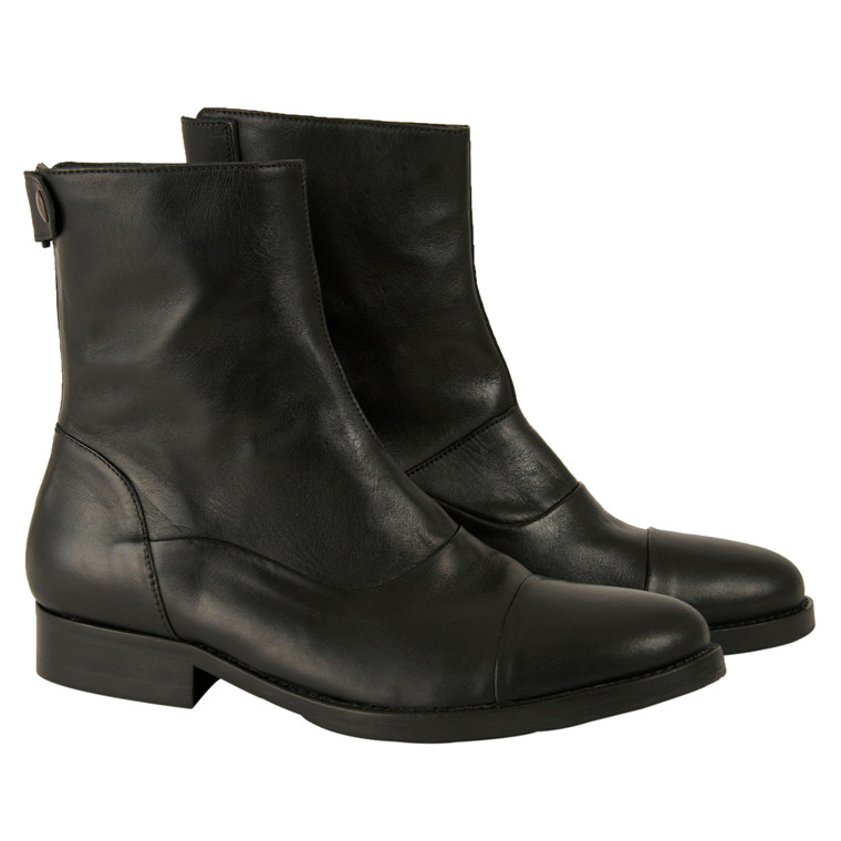 Mentor back zip boot