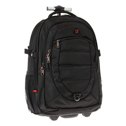 Enrico Benetti Cornell rygsæk m/hjul og pc-rum