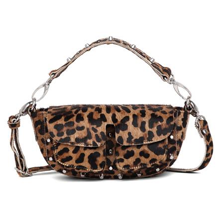 Unlimit Ellery lille taske i leopard