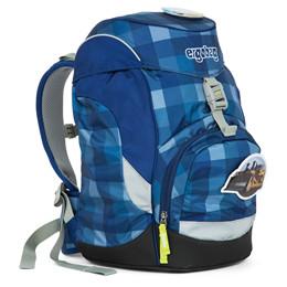 Moderne Prime skoletaske m/regulerbar ryg fra Ergobag MT-34