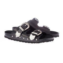 4fdce76d9d3b Shoe Rivet flad sandal med spænder fra Sofie Schnoor