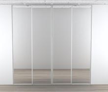 Kitchn skydelåger - 4 x spejl låge