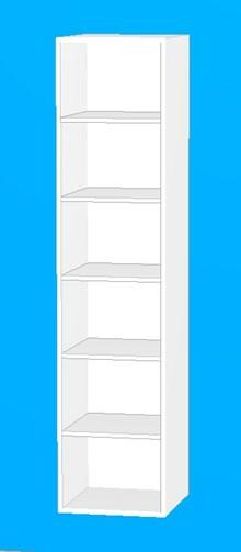 Badkorpus høj 40 cm