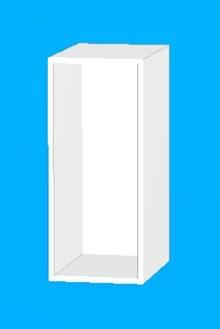 Stomme till högt badrumsunderskåp 30 cm
