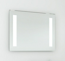Spegel med LED ljus 90 cm