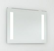 Spejl med LED lys 80 cm