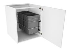 Vaskeskab m. affaldssystem