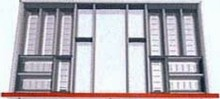 Bestikindsats rustfri stål 100