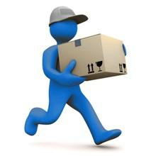 Etage levering - Modtager hjælper til