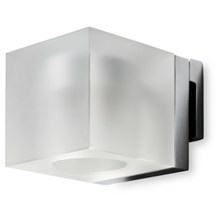 Simply Light Square til spejlmontering - mat glas