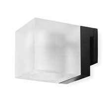 Simply Light Black til spejlmontering – mat glas