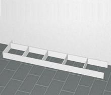 Sokkelsæt inkl. en sokkelende 2496 mm