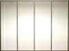 Kitchn skydelåger - 4 x glat låge