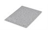 Bordplade stang - lys bundfarve - grå-sorte nister - 4100 mm