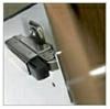 Luckdämpare, klickmonteras på gångjärn