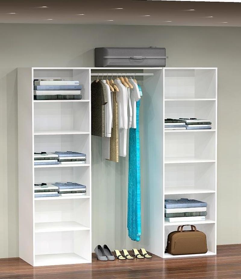 Garderobe indretning 197cm k bes online hos for Garderobe 60 cm