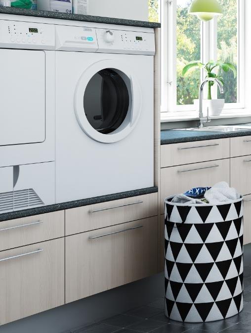 skab vaskemaskine tørretumbler