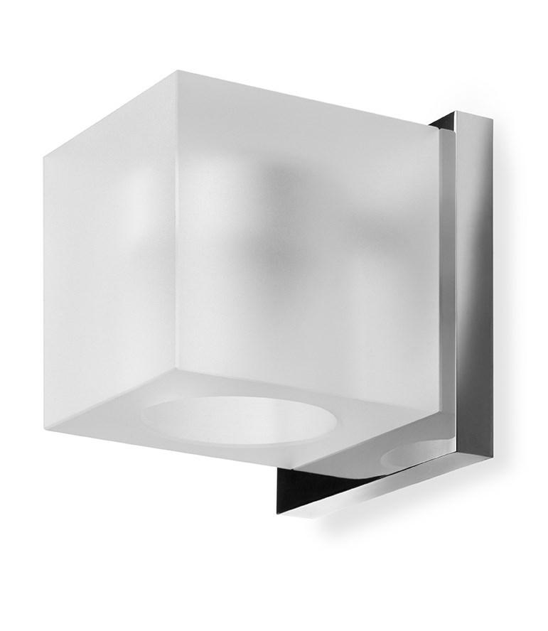 Badev u00e6relseslampe til v u00e6g Simply Light Square Mat glas
