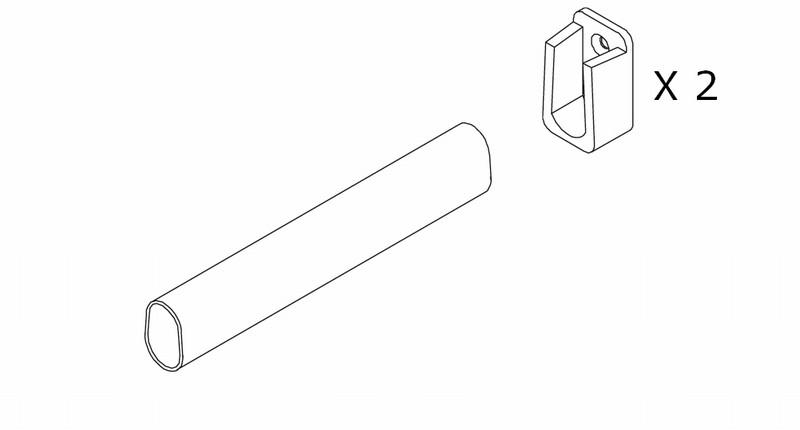 bøjlestang til skab Billig bøjlestang   hurtig levering   køb online her bøjlestang til skab