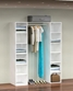 Garderobe indretning 157cm