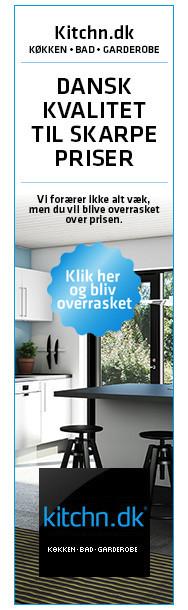 Kitchn.dk leverer køkkener i god kvalitet til yderst fornuftige priser. Det kan vi da vi udelukkende sælger via vores webshop, hvor vores konsulenter sidder central på fabrikken - hvorfra vi sender vores varer direkte hjem til vores kunder.