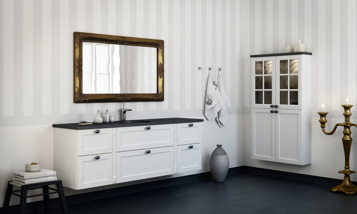 Bad galleri   inspiration til dit badeværelse   kitchn.dk