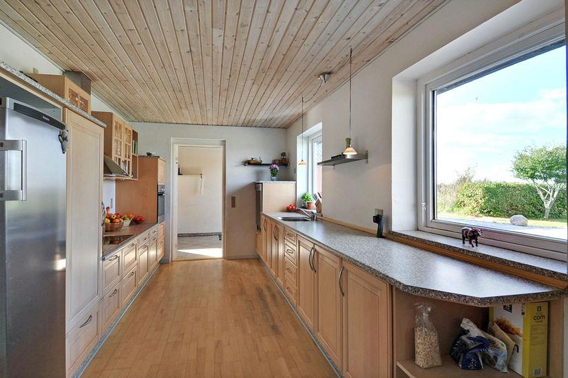 Hjemme hos – lyst og lækkert køkken! – fra gammelt til nyt