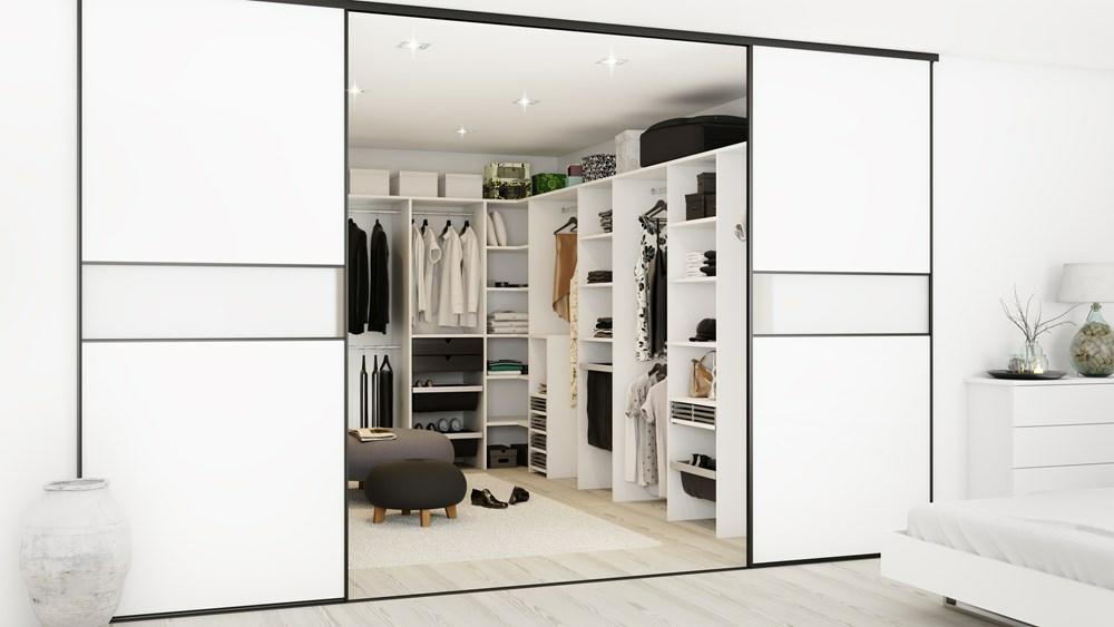 walk in closet indretning Walk in closet   Hvordan du skal gøre   Få tegning og pris walk in closet indretning