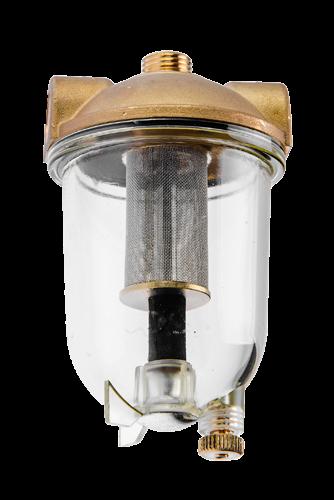 1024 Oliefilter med rustfrit filter