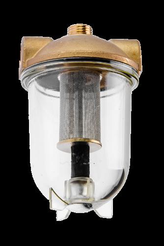 1026 Oliefilter med rustfri filter
