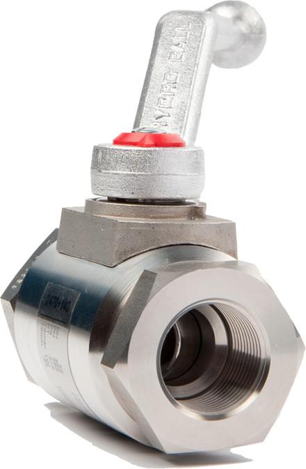 RF kugleventil med tilslutning til lette rør (LR)