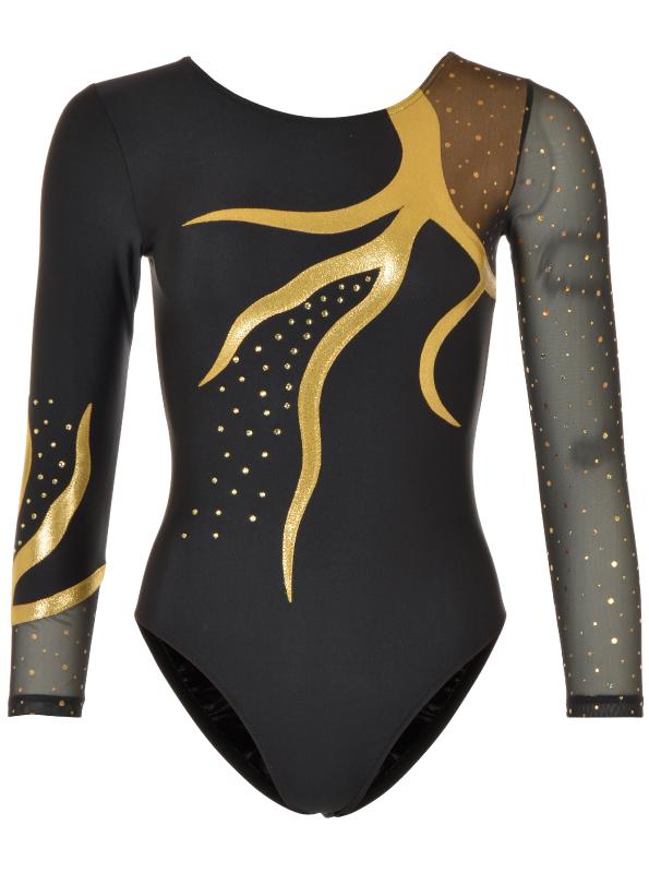 Gymnastikdragt no. 13-100404-400 Guld