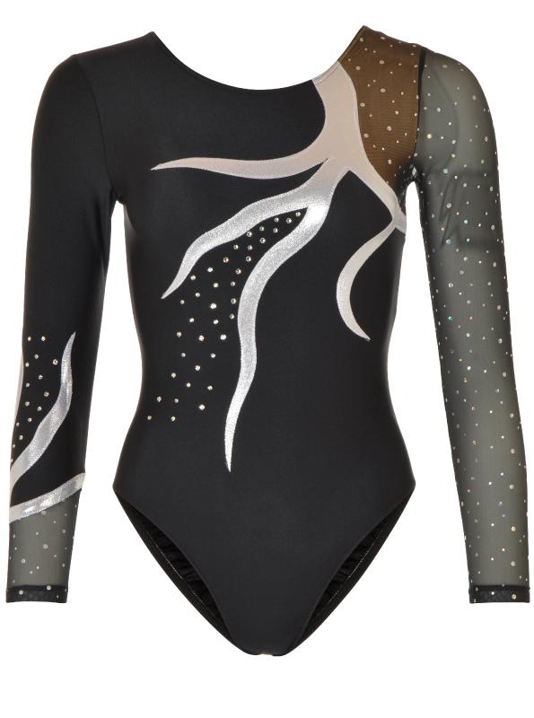Gymnastikdragt no. 13-100404-400 Sølv