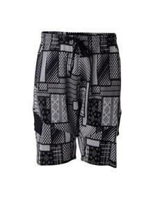 Street shorts | White/black