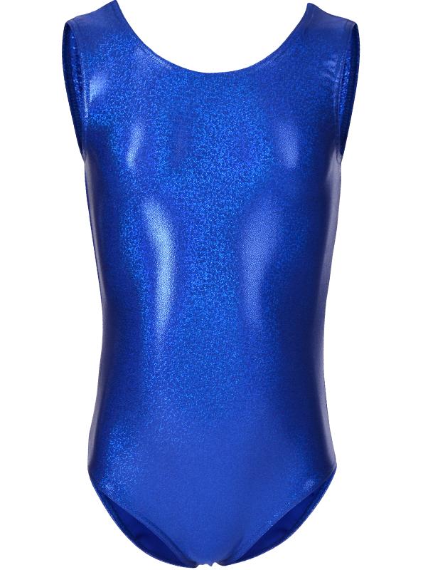 Blå Glitter Turndrakt