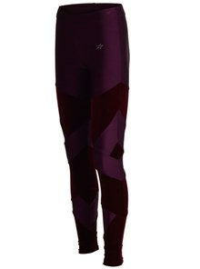 Leggings no. 15-700600-200 Bordeaux Velour