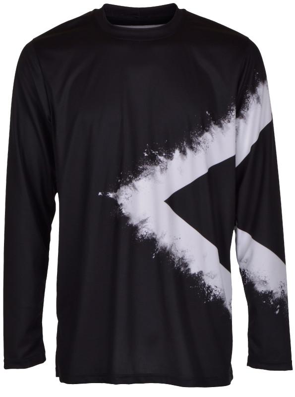 Langærmet t-shirt 16-650000-100
