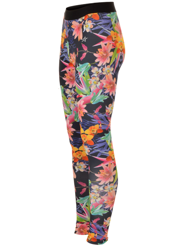 Leggings 16-700200-100w blomster