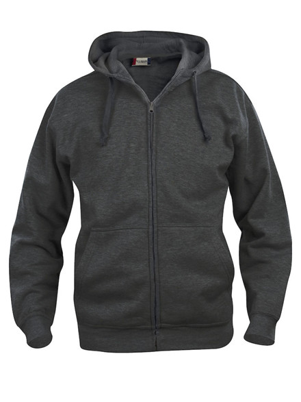 Basic Hoody Full Zip - Herre