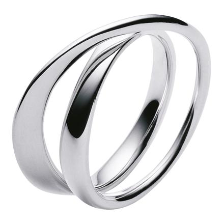 Georg Jensen Möbius ring 3552340