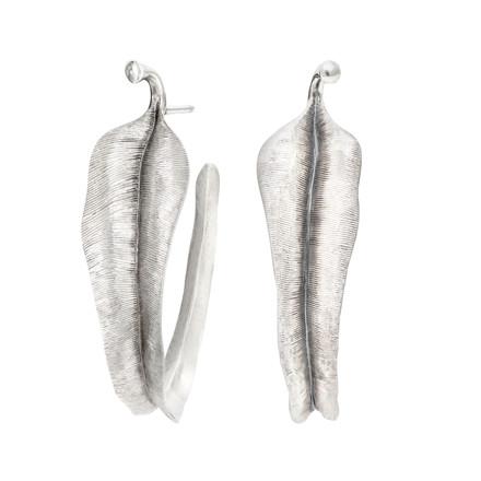 OLE LYNGGAARD COPENHAGEN Silver Leaves øreringe A2870-301