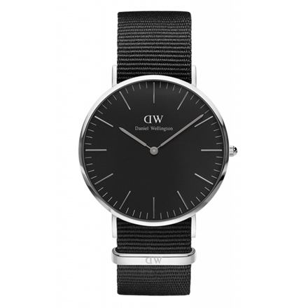 Daniel Wellington Classic Black 40mm Cornwall DW00100149