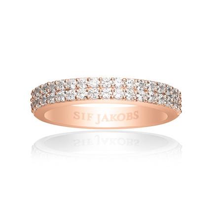 Sif Jakobs Jewellery Corte Due SJ-R10762-CZ(RG)