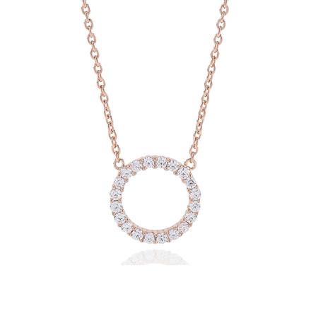 Sif Jakobs Jewellery Biella Grande SJ-C338(1)-CZ(RG)